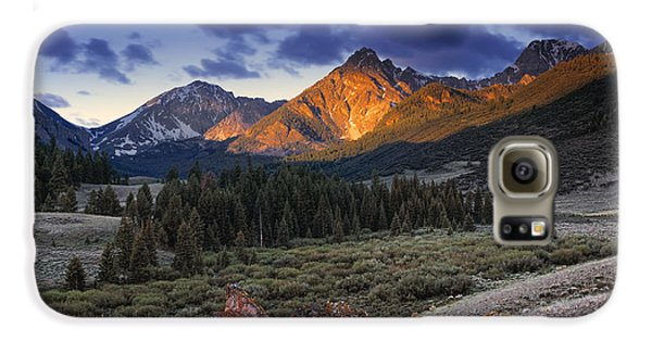 Lost River Mountains Moon Galaxy S6 Case