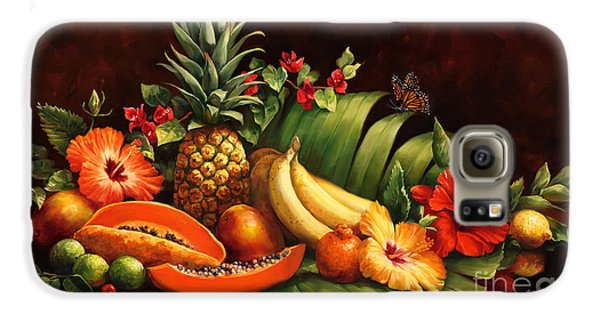 Lots Of Fruit Galaxy S6 Case by Laurie Hein