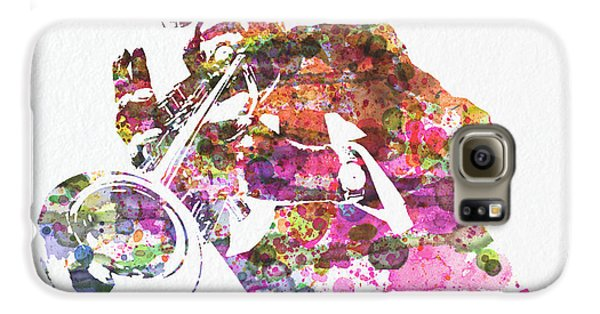 Louis Armstrong 2 Galaxy S6 Case by Naxart Studio
