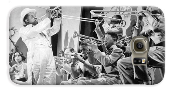 Trombone Galaxy S6 Case - Louis Armstrong by American School