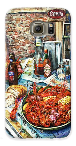 Food And Beverage Galaxy S6 Case - Louisiana Saturday Night by Dianne Parks