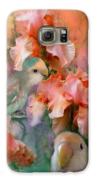 Love Among The Irises Galaxy S6 Case by Carol Cavalaris