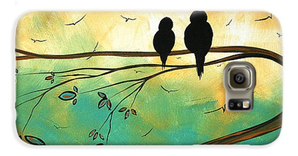 Love Birds By Madart Galaxy S6 Case