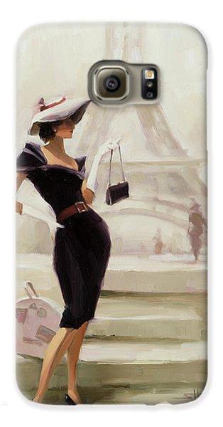 Eiffel Tower Galaxy S6 Case - Love, From Paris by Steve Henderson