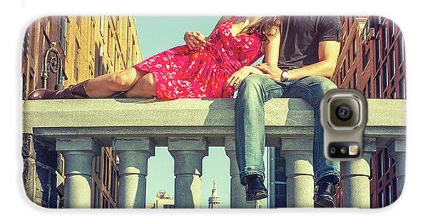 Love In Big City Galaxy S6 Case