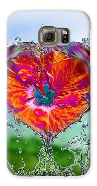Love Makes A Splash Galaxy S6 Case