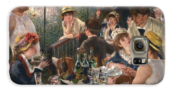 Luncheon Of The Boating Party By Renoir Galaxy S6 Case