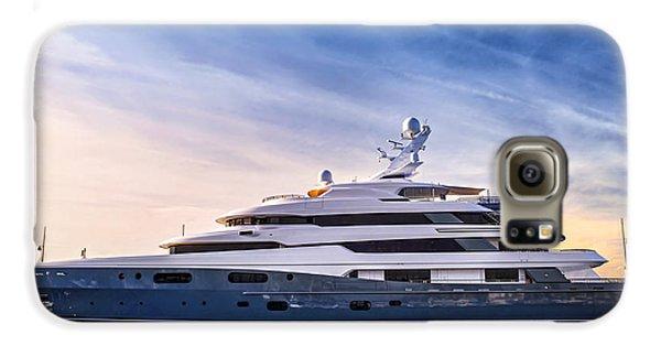Boat Galaxy S6 Case - Luxury Yacht by Elena Elisseeva