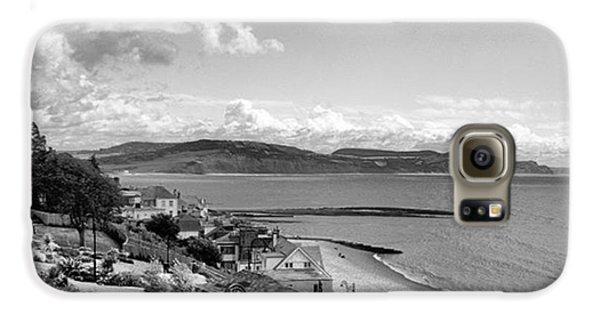 Sky Galaxy S6 Case - Lyme Regis And Lyme Bay, Dorset by John Edwards