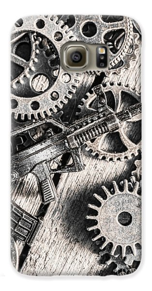 Machines Of Military Precision  Galaxy S6 Case by Jorgo Photography - Wall Art Gallery