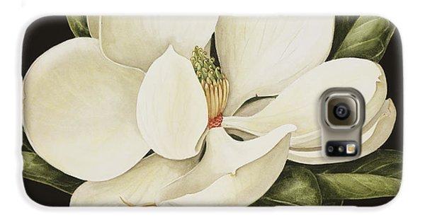 Magnolia Grandiflora Galaxy S6 Case by Jenny Barron