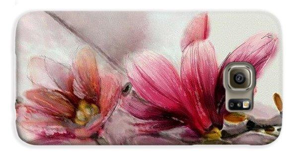 Magnolien .... Galaxy S6 Case by Jacqueline Schreiber