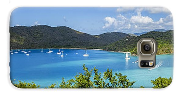 Galaxy S6 Case featuring the photograph Maho And Francis Bays On St. John, Usvi by Adam Romanowicz