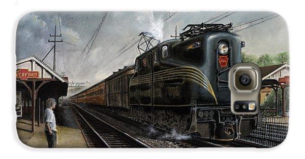 Train Galaxy S6 Case - Mainline Memories by David Mittner
