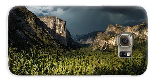 Yosemite National Park Galaxy S6 Case - Majestic Yosemite National Park by Larry Marshall