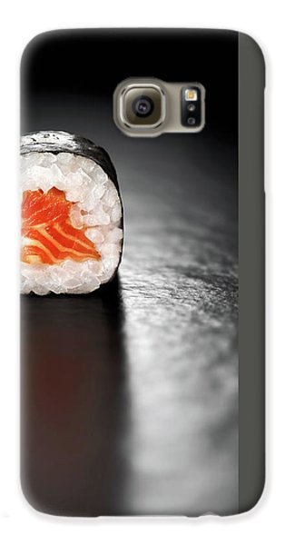 Maki Sushi Roll With Salmon Galaxy S6 Case
