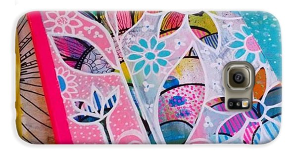 Galaxy S6 Case - Making #meadori Style #artjournals by Robin Mead