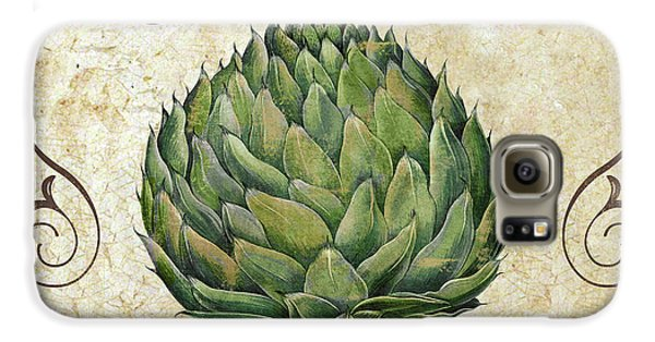 Mangia Artichoke Galaxy S6 Case by Mindy Sommers
