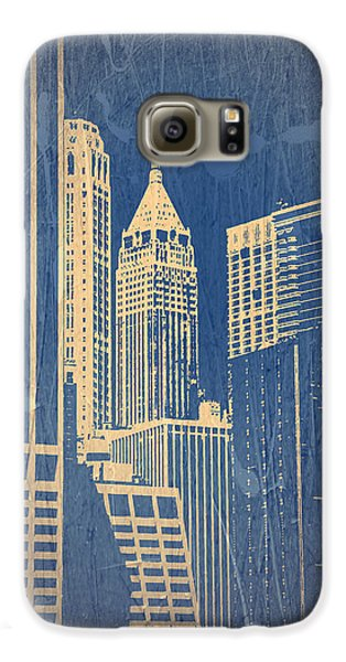 Manhattan 1 Galaxy S6 Case by Naxart Studio