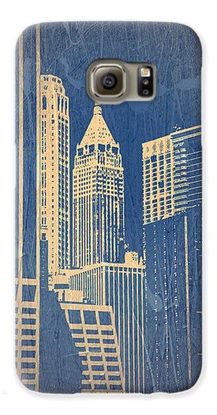 Manhattan 1 Galaxy S6 Case by Naxart Studio