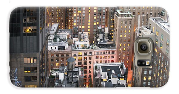 Manhattan At Dusk Galaxy S6 Case