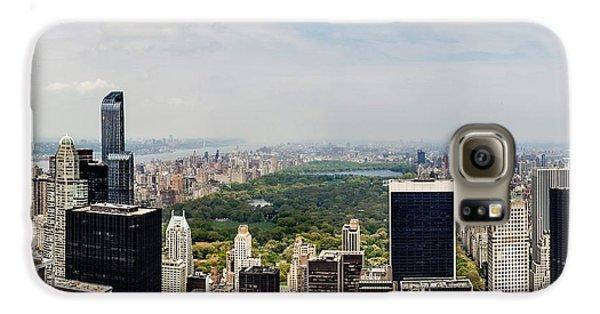Manhattan Haze Galaxy S6 Case by Az Jackson