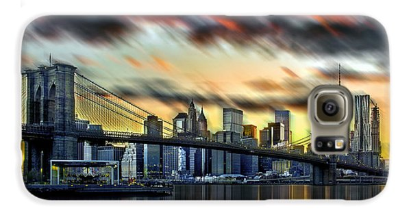 Manhattan Passion Galaxy S6 Case by Az Jackson