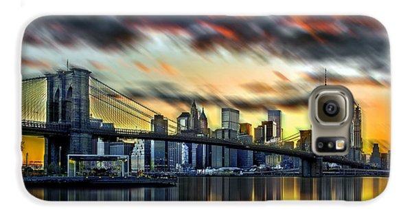 Manhattan Passion Galaxy S6 Case by Az Jackson