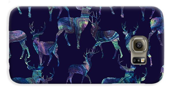 Marble Deer Galaxy S6 Case by Varpu Kronholm