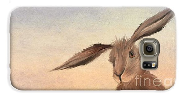 Rabbit Galaxy S6 Case - March Hare by John Edwards