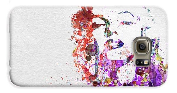 Marilyn Monroe Galaxy S6 Case by Naxart Studio