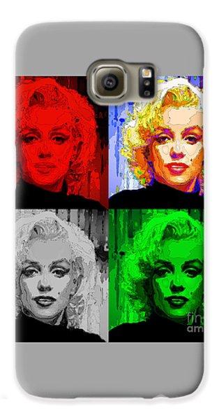 Marilyn Monroe - Quad. Pop Art Galaxy S6 Case