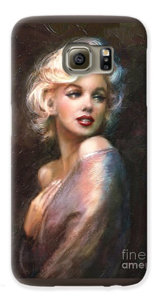 Portraits Galaxy S6 Case - Marilyn Romantic Ww 1 by Theo Danella