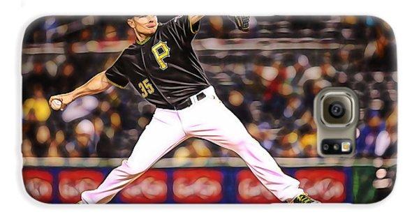 Mark Melancon Baseball Galaxy S6 Case