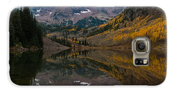 Maroon Bells Galaxy S6 Case