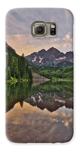 Maroon Bells Sunset - Aspen - Colorado Galaxy S6 Case