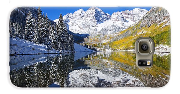 Maroon Lake And Bells 1 Galaxy S6 Case