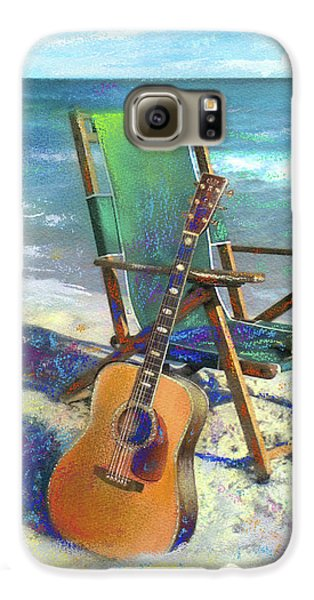 Guitar Galaxy S6 Case - Martin Goes To The Beach by Andrew King
