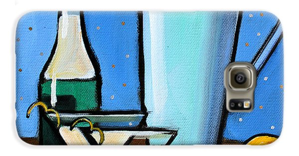 Martini Night Galaxy S6 Case by Toni Grote