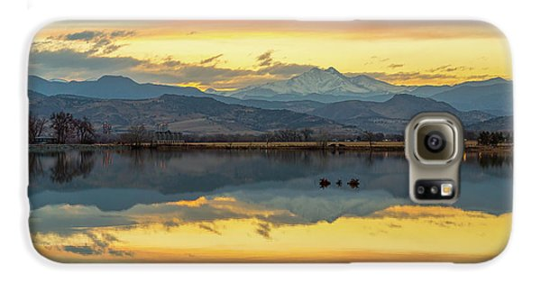 Galaxy S6 Case featuring the photograph Marvelous Mccall Lake Reflections by James BO Insogna