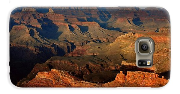 Mather Point - Grand Canyon Galaxy S6 Case by Stephen  Vecchiotti
