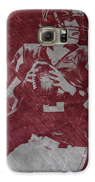 Matt Ryan Atlanta Falcons Galaxy S6 Case by Joe Hamilton