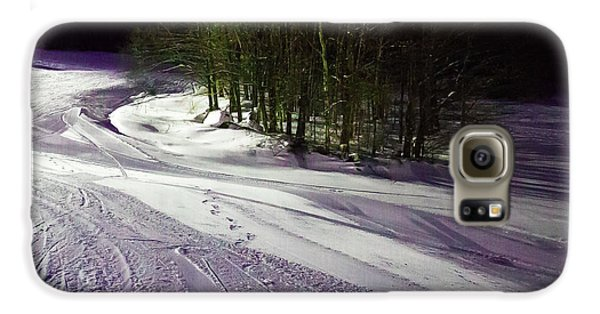 Galaxy S6 Case featuring the photograph Mccauley Evening Snowscape by David Patterson
