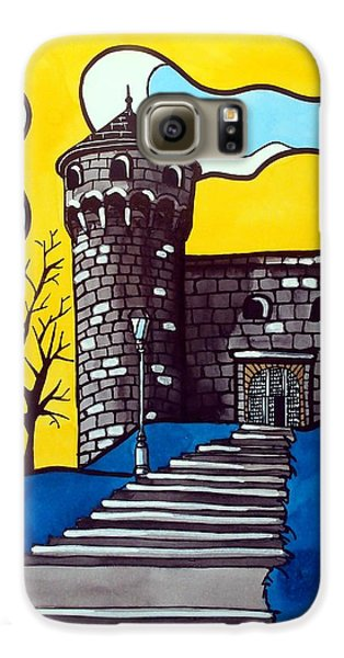 Galaxy S6 Case featuring the painting Medieval Bastion -  Mace Tower Of Buda Castle Hungary By Dora Hathazi Mendes by Dora Hathazi Mendes