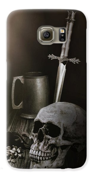 Knight Galaxy S6 Case - Medieval Still Life by Tom Mc Nemar