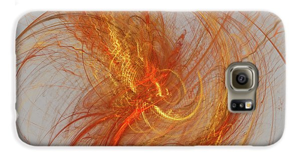 Medusa Bad Hair Day - Fractal Galaxy S6 Case