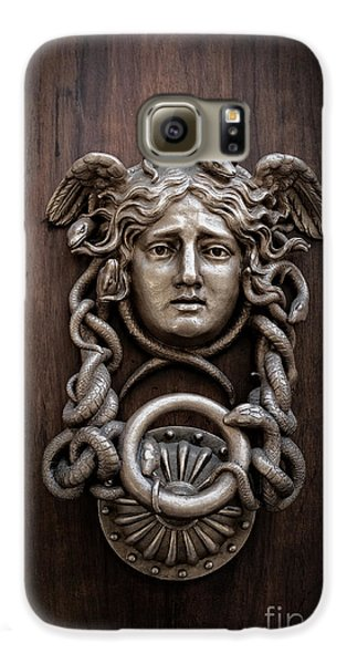 Medusa Head Door Knocker Galaxy S6 Case by Edward Fielding