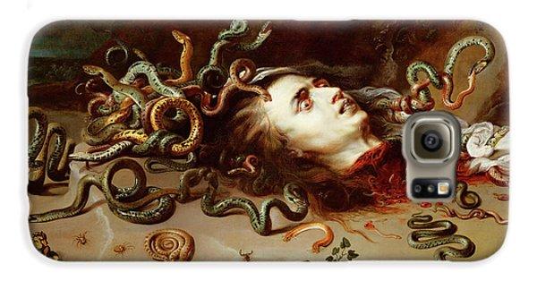 Gorgon Galaxy S6 Case - Medusa by Peter Paul Rubens