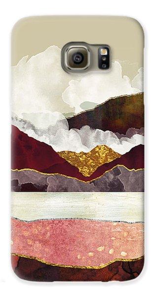 Landscapes Galaxy S6 Case - Melon Mountains by Katherine Smit