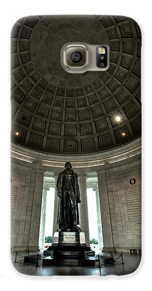 Memorial To Thomas Jefferson Galaxy S6 Case by Andrew Soundarajan